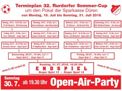 32. Rurdorfer Sommercup